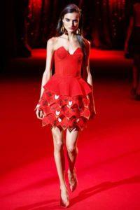 Париж, Неделя высокой моды, показ коллекции Ulyana Sergeenko весна-лето 2017