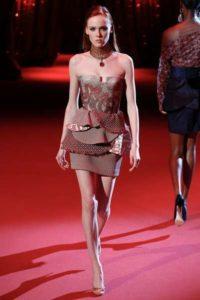 Показ новой коллекции Ulyana Sergeenko в Париже 2017