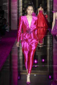 Показ ливанского дизайнера Зухаира Мурада на Неделе моды в Париже