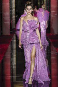 Показ ливанского бренда Zuhair Murad на Неделе моды в Париже
