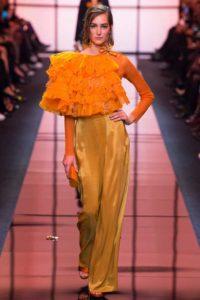 Показ итальянского Дома Giorgio Armani на Неделе моды в Париже
