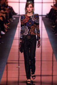 Коллекция Джорджо Армани на Неделе высокой моды в Париже