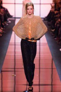 Коллекция вечерних платьев Armani Prive в Париже