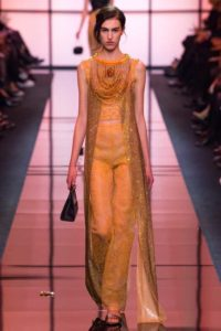 Вечерние платья от кутюрье Джорджо Армани