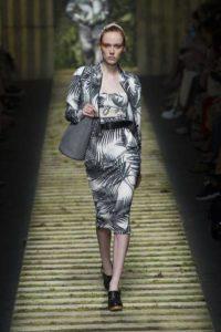 Коллекция платьев Max Mara в Милане