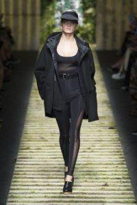 Показ итальянской марки MaxMara на Миланской Неделе моды