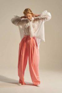 Модные брюки от дизайнера Вики Газинской, весна-лето 2017