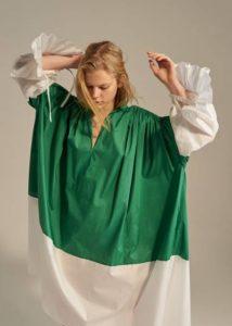 Новая коллекция летних платьев Vika Gazinskaya в Париже