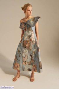 Коллекция платьев Вики Газинской в Париже
