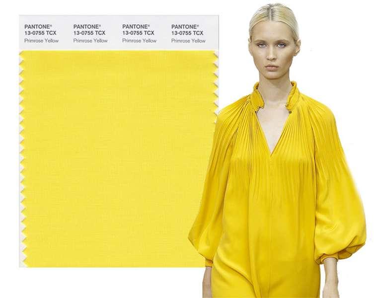 модные цвета в одежде, весна-лето 2017 года
