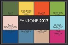модные цвета весна лето 2017, Топ-10 Pantone, фото