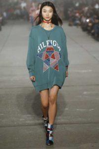 Коллекция Tommy Hilfiger на Неделе моды в Нью-Йорке