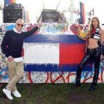 Показ новой коллекции Gigi Hadid x Tommy Hilfiger в Лос-Анджелесе