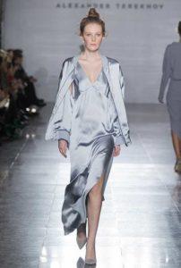 Показ женской коллекции весна-лето 2017 Александра Терехова на московской неделе Моды
