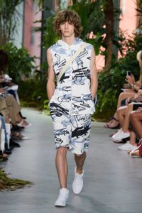 Коллекция Лакост весна-лето 2017 на Неделе моды в Нью-Йорке