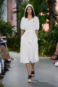Нью-Йорк, Неделя моды, показ коллекции Лакоста весна-лето 2017
