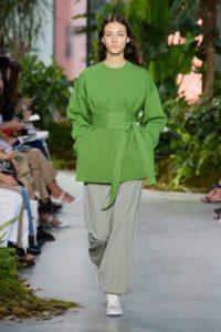 Lacoste, показ модной женской одежды весна-лето 2017, Нью-Йорк