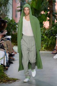 Нью-Йорк, Неделя моды, показ коллекции Lacoste весна-лето 2017