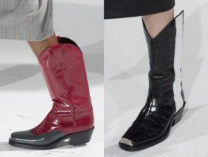 сапоги Calvin Klein осень-зима 2017 2018