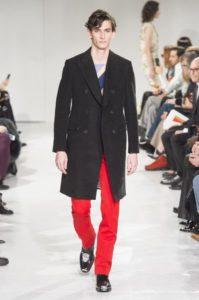 Показ американского бренда Кельвин Кляйн на Неделе моды в Нью-Йорке