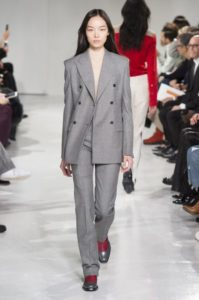 женские костюмы Calvin Klein осень-зима 2017 2018