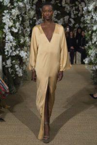 Показ американского бренда Ральф Лорен на Неделе моды в Нью-Йорке