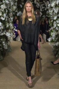 Коллекция бренда Ральф Лаурен весна-лето 2017 на Неделе моды в Нью-Йорке