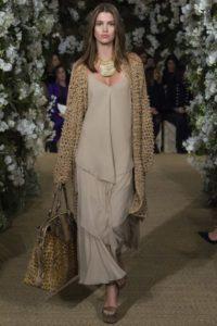 Коллекция Ralph Lauren весна-лето 2017 на Неделе моды в Нью-Йорке
