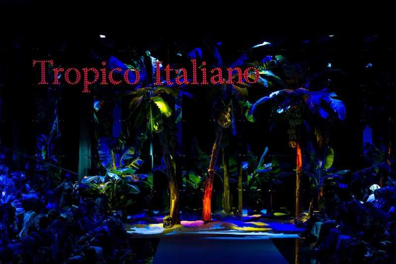 Коллекция Дольче Габбана весна-лето 2017, tropico italiano