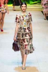 Показ новой весенне-летней коллекции Dolce Gabbana в Милане