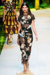 Показ новой коллекции Dolce & Gabbana в Милане