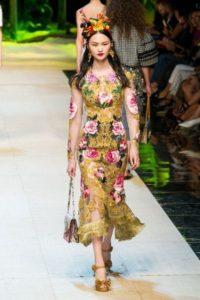 Показ новой коллекции Dolce Gabbana в Милане