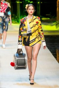 Милан, Неделя моды, показ коллекции Dolce Gabbana весна-лето 2017