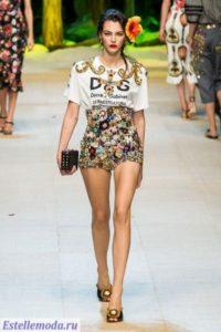 Коллекция женской одежды Dolce & Gabbana весна-лето 2017