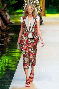 Коллекция Dolce & Gabbana в Милане