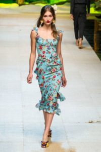 Коллекция Дольче Габбана на Неделе моды в Милане