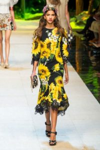 Коллекция Dolce & Gabbana на Неделе моды в Милане