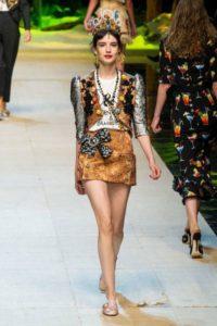Платья Dolce & Gabbana весна-лето 2017
