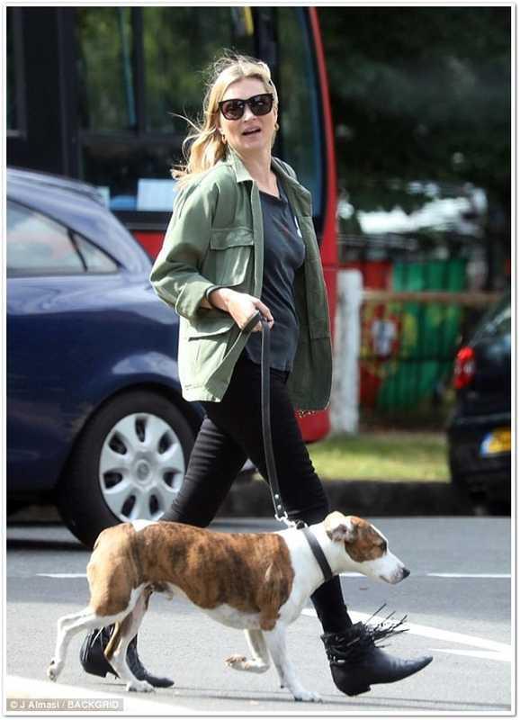 Повседневный стиль Кейт Мосс в 2017 году