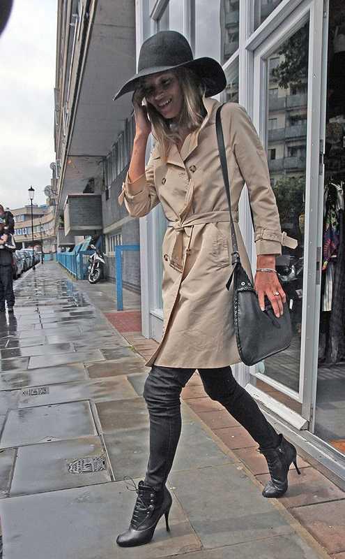 Уличный лук Кейт Мосс