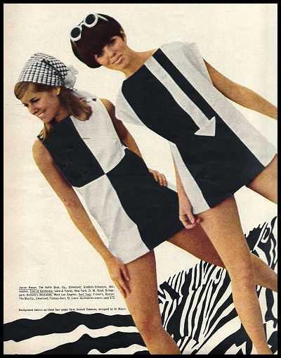 стиль mods в женской одежде