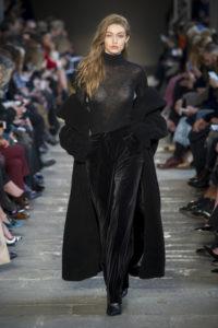 Черный цвет в осенне-зимней коллекции Max Mara