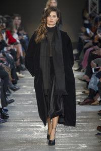 Черный цвет в одежде Макс Мара осень-зима 2017 2018
