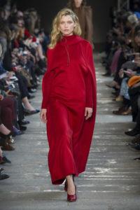 Красный цвет в коллекции Макс Мара зима 2018