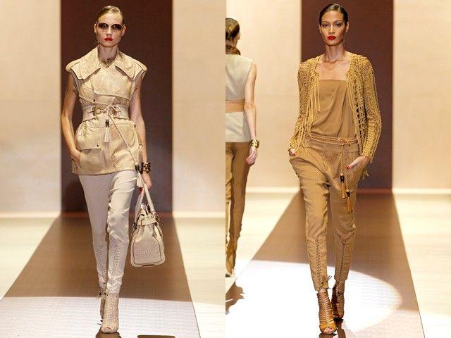 Бежевый – цвет одежды сафари