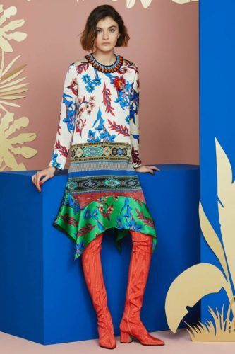Платье Этро, коллекция resort 2018