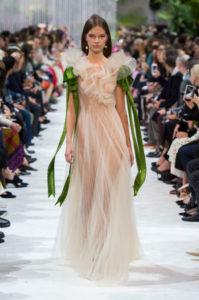 вечернее платье валентино