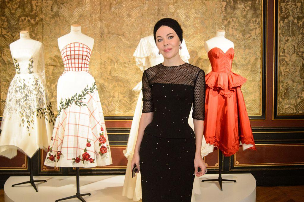 Российский дизайнер Ульяна Сергиенко на показе своей коллекции весна-лето 2018 в Париже