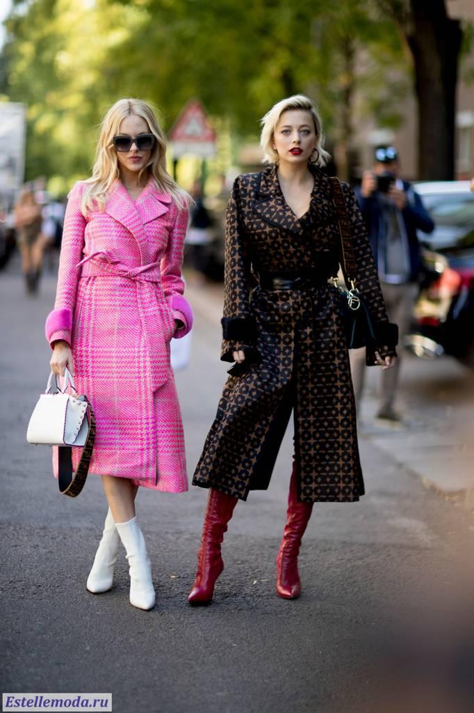стильные женские пальто 2018