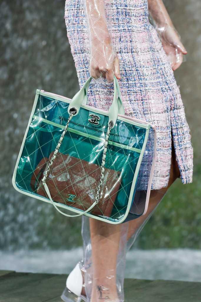 сумки шанель зеленые